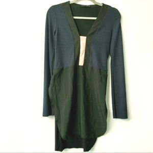 Zara Tunic- Navy, Cream and Black